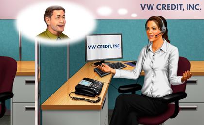 VW Credit, Inc. Executes Service Agreement with Logi-Serve image