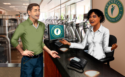 Leading Athletic Club Chooses Logi-Serve image