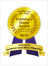 Publisher's Choice Award - Customer Care News