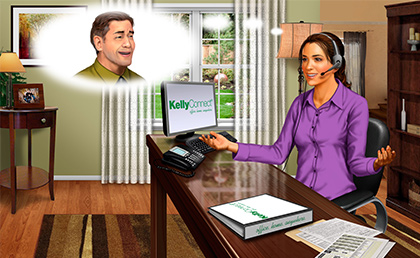Logi-Serve and KellyOCG Break New Ground in Candidate Screening for Home Based Agent Contact Center Program image
