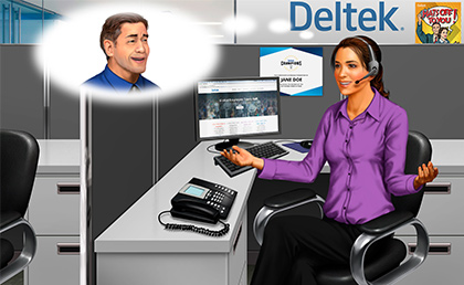 Deltek Selects Logi-Serve to Help Identify Top B2B Sales Representatives image