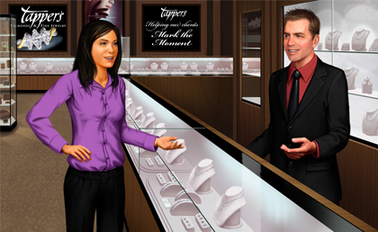Tapper's Jewelers Executes Service Agreement with Logi-Serve image
