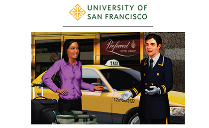 University of San Francisco's Hospitality Management Program Incorporates Logi-Serve in Coursework Focused on Enhancing Guest Experience image